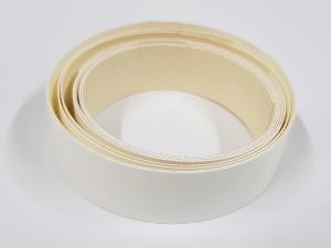 Dekorkannte (Kanntenumleimer) Weiß - zum aufbügeln